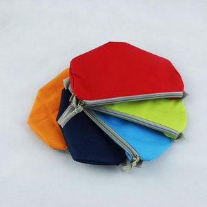 5 PCS Multifuntion Pen Bag 600D Waterproof Oxford Cloth Simple Style Change Purse Small Gift Bag New Arrival Coloful Handbag