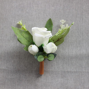 rose flower brooch bride groom brides maids corsage boutonniere wedding corsages prom and photography props