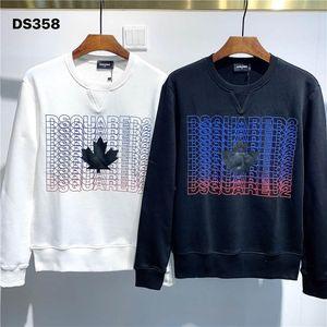 2020 New Arrival Top Quality D2 Brand Designer Men's Clothing Street Hoodies Long Sleeve Sweatshirts M-3XL DS358