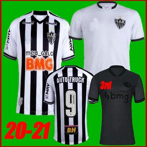 Boyutu: S-3XL 2020 Atletico Mineiro Futbol Forması Eve Away Atlético 20 21 Marquinhos Juani Oto Kamyon Yimmi Chará Futbol Gömlek