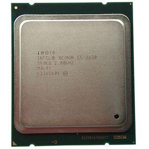 Xeon Processor E5-2650 C2 SR0KQ 20M Cache / 2.0 / GHZ / 8.00 GT / S 95W LGA 2011 E5 2650, Venda E5 2670 2660 CPU