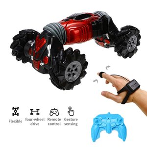 Remote Gesture Sensor Control Rc Stunt car Double Side Driving Off-Road Vehicle with LED Light2AYY