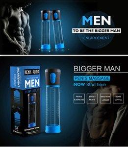 Bomba de pene Bomba de agrandamiento de pene eléctrico Ejercicio de succión automático Juguete Sexy Juguete Producto para adultos para hombre Penis Ampliación Bomba