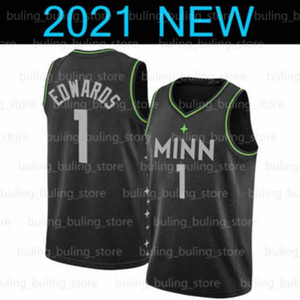Anthony 1 Edwards Jersey Minnesota