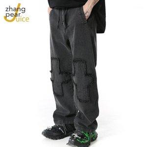 Streetwear Men's Cool Pants Pocket Loose Men HipHop New Fashion Joggers Pants Trousers Men Hombre Male Casual Fashion1