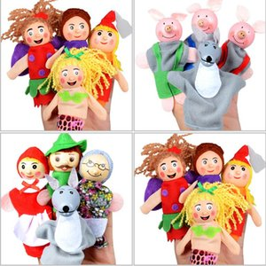 Main Thumb Puppet Jouet Big Boudon Animal Puppet Dix Ensembles. Flexible et amusant. Touche confortable