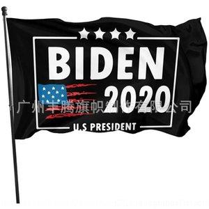 4TNK Polyester Sale150 * 90cm Sublimation Drapeau vierge DIY Big Flag Impression de bannière Drapeaux pour le président 2020 Élection A08