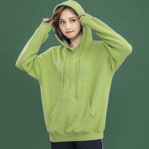 Hoodies Girl Pullover Autumn Winter Sweatshirt Fashion Casual Loose College Style Embroidery Hoodies Women's Sweatshirt