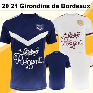 20 21 Girondins de Bordeaux Mens Soccer Jerseys BRIAND S.KALU KAMANO Home Away Football Shirt DE PREVILLE BENITO OUDIN MUIJO Short Sleeve