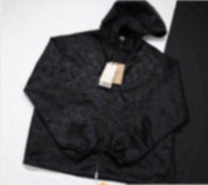 Mann Designer Kleidung Baumwollkleidung Jacken Arbeit Taschen Jacquard Nylon Casual Herren Wintermäntel Herrenjacke Schwarz 05