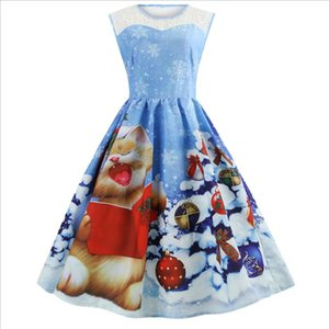 Cute kawaii 2020 New Design Style Hot Sale Casual Women Dress Spring sweet Autumn Winter Sexy Party Vintage Ladies