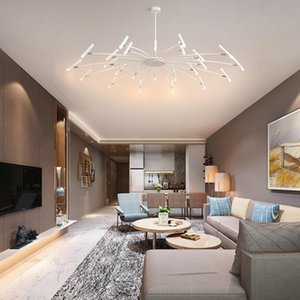 modern Glass Ball LED pendant Lights Magic Bean pendant lamp Nordic Bedroom Living Room Restaurant Bar Kitchen LED Hanging Lamp