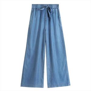 M 6XL 7XL Women High Waist Jeans Vintage Mom wide leg Jeans High Quality Cowboy Denim Pants plus size Summer demin trousers