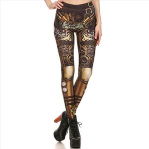 40 New Women Leggings Steampunk Retro Legging Comic Cosplay Sexy Print Leggins Gothic Strerchy Skinny Pants ropa mujer