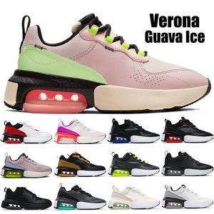 Nuovo arrivo Verona uomo scarpe da corsa guava ghiaccio triplo nero antracite vela bianca prugna gesso rosa fresco grigio mens formatori da donna scarpe da ginnastica da donna