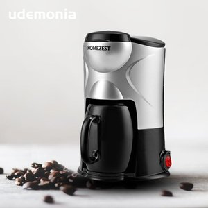 Mini Coffee Machine Coffee Maker Портативный Electric Espresso Машина Один Чашка 150 мл Капель Варринг Горячий свежий для дома и офиса