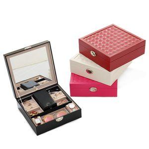 Watch Box Display Case Jewelry Collection Casket Storage Organizer Z1123