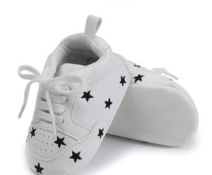 Fashion Spring AutumnToddler First Walker Baby Boy And Girl Soft PU shoes Infant New Born Baby Shoes Mesh Sport Shoes