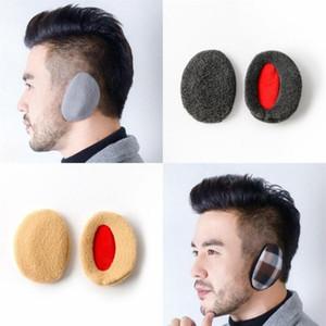 Fleece Earmuff Keep Warm Single Ear Without Headband Earflap Men Women Child Winter Outdoor Coldproof Ears Cover 17 Styles LJJP838