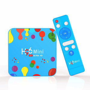 H96 Mini H6 Android 9.0 TV Box With Allwinner 4GB 32GB Streaming Media Player Support 2.4G 5G Dual Band Wifi