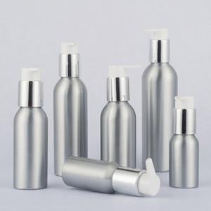 24 x Aluminum Lotion Metal Container with Press Pump Aluminium Cosmetic Cream bottle 40ml 50ml 100ml 120ml 150ml 250ml