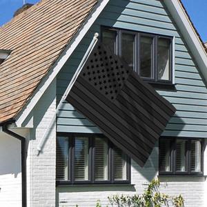 Alle schwarzen amerikanischen Flagge 3x5 ft drucken us usa blackout taktische tülle tülle banner flaggen 90 * 150 cm ppa3566