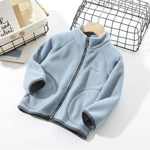 2020 Warm Kids Boy Outerwear Spring Autumn FJacket For Boys Kids Coat Winter Fleece Jackets For Boy Children's Clothing 10 11 12 LJ201130