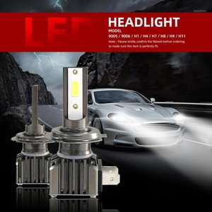 Fari dell'automobile 2021 6000LM M2 LED Faro principale H7 Lampadina H1 H4 H8 H9 H11 9005 9006 HoodLamp 12V 24V (2pcs / Set) 1