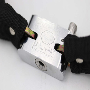 High Quality Factory Direct Sale New Bicycle Lock Gold Chain Bicycle Small Chain Lock Code Lock Anti-Theft