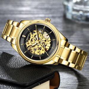 Chenxi masculino negócios relógio de pulso esqueleto de esqueleto movimento automático 2021 fivela de aço inoxidável fivela de aço inoxidável 001 relógios para homens