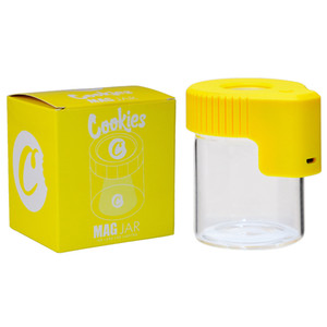 Kurabiye LED Depolama Kavanoz Büyüteç Stash Konteyner 155 ml Kuru Herb Tütün Kurabiye için Vakum Şişesi Şişe Kavanoz