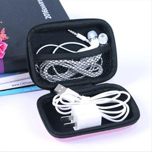 Earphone Holder Case USB Cable Box Storage Carrying Hard Bag Box Case For Earphone Headphone Accessories Earbuds memory Card