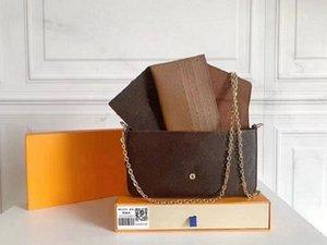 Neue 2020 Modedesigner Luxus Handtaschen Geldbörsen Vintage Tasche Frauen Marke Männer Klassische Stil Echtes Leder Diagonale Umhängetaschen # V332288