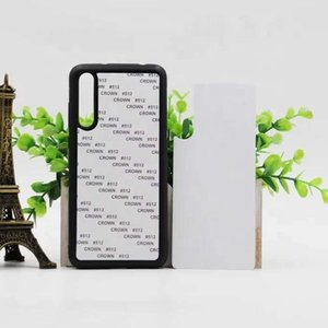 Wholesale PC + TPU blank sublimation hot pressure mobile phone shell for HUAWEI P20 PRO