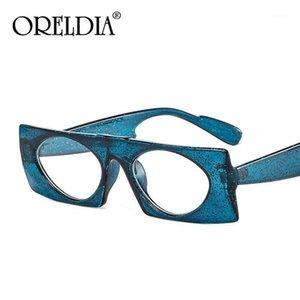 Oreldia Square Vintage Sunglasses Mulheres 2020 Novo Designer Sun Óculos para Homens Moda Na moda Óculos Populares UV4001
