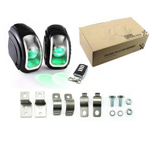 방수 오토바이 전기 스피커 FM 기능 조명 효과 오디오 라디오 스피커 refitting supplies