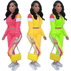 womens jackets tracksuit long sleeve pant outfits 2 piece set sportsuit cardigan + legging women clothes jogger sport suit klw5775