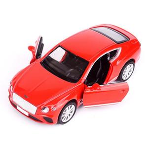 حار 1:36 مقياس عجلة bentleying continentals gt دييكاست الرياضة سيارة المعادن نموذج التراجع سيارة سبيكة اللعب مجموعة للهدايا q1217