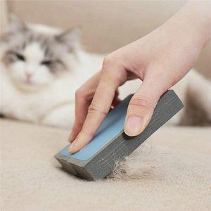 Perro Gato Removedor de pelo Reutilizable Esponja Esponja Pincel de pelusa Accesorios para mascotas para alfombras de muebles Asientos de automóvil Ropa JK2012XB