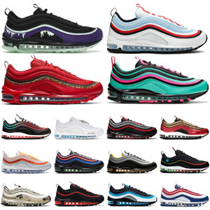 max 97 2020 Worldwide Running Shoes Herren Trainer Sean Wotherspoon MSCHF x INRI Jesus UNDEFEATED Triple Schwarz Weiß Sport Turnschuhe Trainer 36-45
