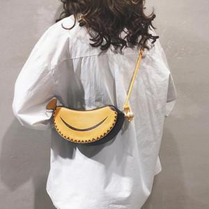 Cartoon Bags For Women's 2020 High Quality Female Handbag Designer banana Shoulder Crossbody Bag Fashion Women Messenger Bag