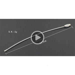 Envío gratis DHL Top Qlity Cable de alambre de acero inoxidable llavero Anillo de llavero para al aire libre Senderismo 1200pcs