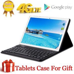 Tablet PC 8000mAh Kostenloser Geschenk-Case-Abdeckung 4G LTE 10,1 Zoll 2.5d 10 Deca-Kern MT6797 8 GB RAM 256GB ROM 2560 * 1600 Android 8.01