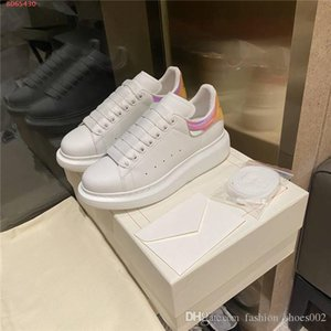 Ladies classic white shoes white rubber outsole wear resistant sneakers low-top lace-ups casual shoes,With Box 34-40