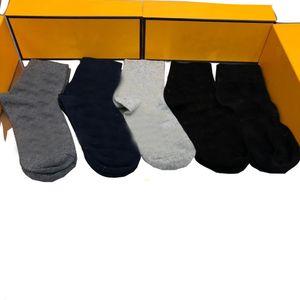 5 pares / caja Sexy Divertido algodón calcetines hombres moda hombre largo deporte calcetín informal negocio cálido adulto sudor calcetines de los calcetines de regalo con caja