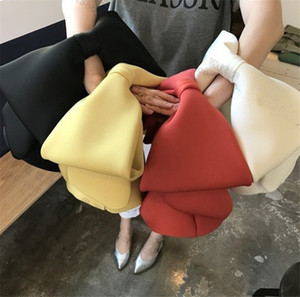 Big Bow Robbin Handbag Designer Bags Wrist Purses Solid Girls Womens Bowknot Tote Trendy Dinner Party Clutch Makeup Cosmetic Bag LY11272