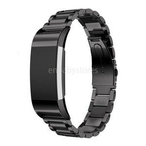 Stainless 4 Color Luxury Steel Watchband For Fitbit Charge 2 Smart Wristwatch Replacement Bracelet Strap Watch Band With Adapter Vs Dz09 V8