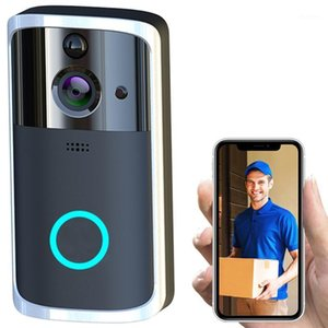 Smart Doorbell HD Camera Wifi Wireless Call Intercom Video-Eye for Apartments Door Bell Ring for Phone Home Security Cameras1