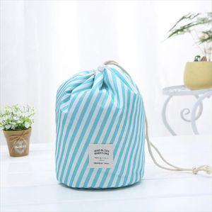Hot Sale Round Waterproof Makeup Bag Travel Cosmetic bag Organizer Toiletry Makeup Bags For Women Ladies Box Neceser