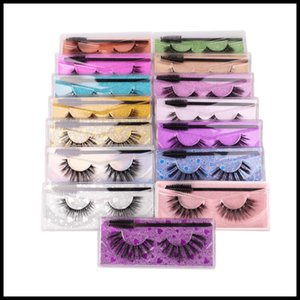 EPACK New Arrival Thick Natural False Eyelashes with Lashes Brush Handmade Fake Lashes Eye Makeup Accessories 15 Models Available